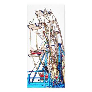 Ferris Wheel-Chalk Outline by Shirley Taylor Rack Card