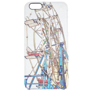Ferris Wheel-Chalk Outline Uncommon Clearly™ Deflector iPhone 6 Plus Case