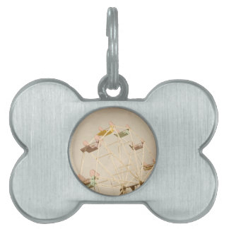 Ferris wheel child size pet tag
