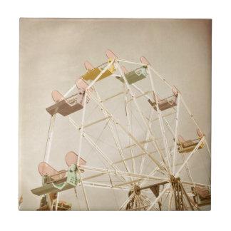 Ferris wheel child size tile