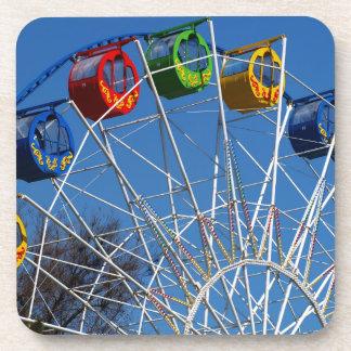 Ferris Wheel closeup Drink Coaster