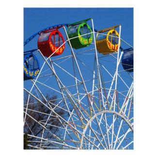 Ferris Wheel closeup Letterhead