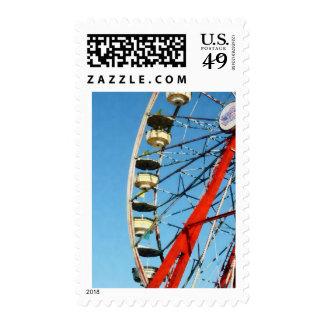 Ferris Wheel Closeup Postage