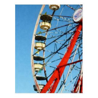 Ferris Wheel Closeup Postcard