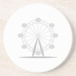 Ferris wheel drink coaster