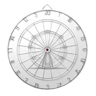 Ferris wheel dart board