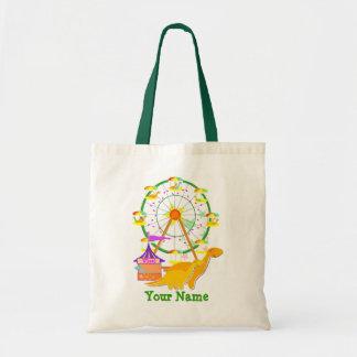 Ferris Wheel Dinosaurs Gift Bag