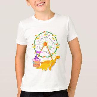 Ferris Wheel Dinosaurs T-Shirt