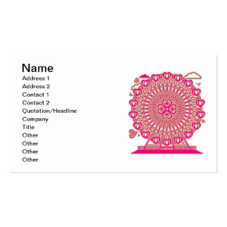 Ferris_Wheel Double-Sided Standard Business Cards (Pack Of 100)
