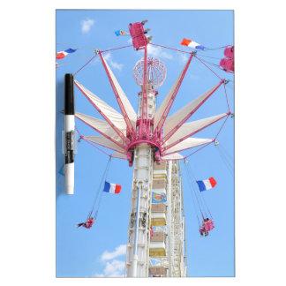 Ferris wheel dry erase board