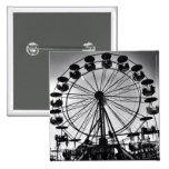 Ferris Wheel in Black and White Photo Gifts Pinback Button
