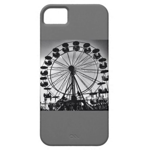 Ferris Wheel in Black and White Photo Gifts iPhone 5 Cover