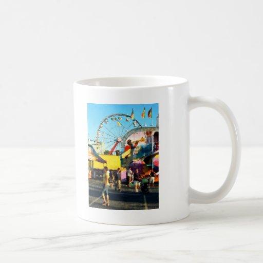 Ferris Wheel in Distance Coffee Mugs