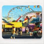 Ferris Wheel in Distance Mousepad