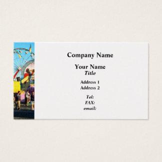 Ferris Wheel in Distance - Platinum Business Card