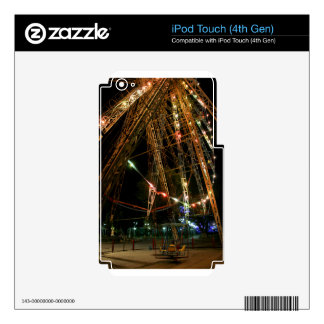 Ferris Wheel in Turkmenistan Decals For iPod Touch 4G