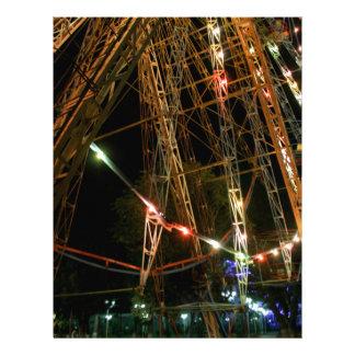 Ferris Wheel in Turkmenistan Letterhead