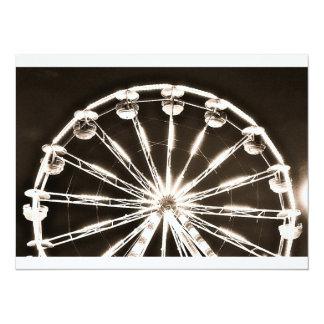 "Ferris Wheel 5.5"" X 7.5"" Invitation Card"