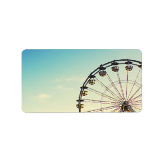 Ferris Wheel Label