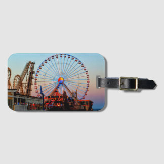 Ferris Wheel Luggage Tag
