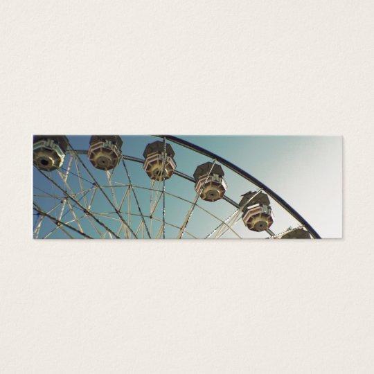 Ferris Wheel Mini Business Card