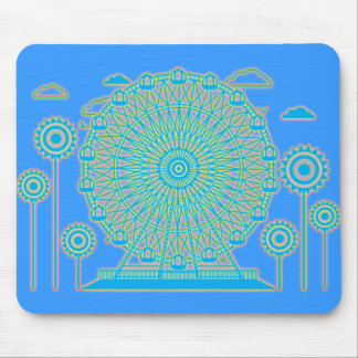 Ferris_Wheel Mouse Pad