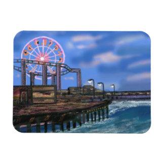 Ferris Wheel on the Boardwalk Premium Magnet