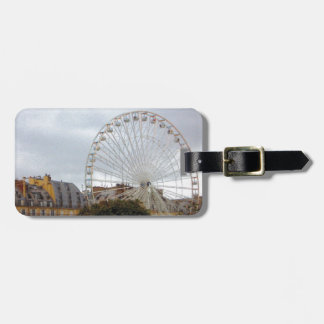 Ferris Wheel - Paris, France Luggage Tag