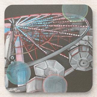 Ferris Wheel Plastic Coaster