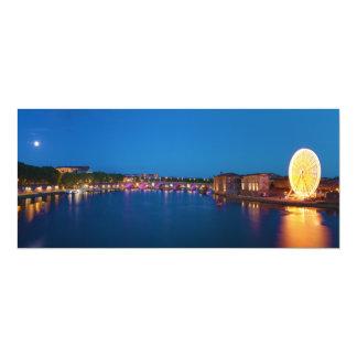 Ferris Wheel Pont Saint-Pierre Toulouse France Card