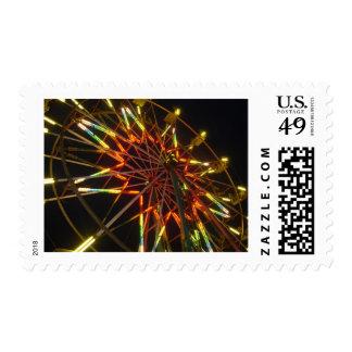 Ferris Wheel Postage Stamps