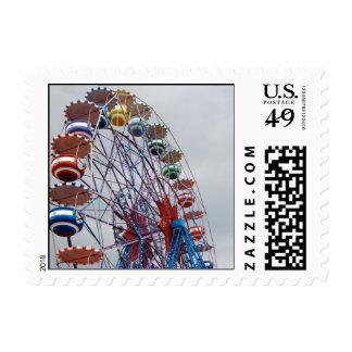 Ferris-wheel Postage Stamp