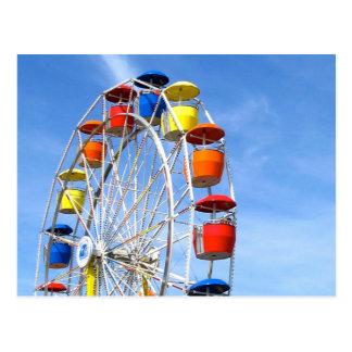 Ferris Wheel Postcard