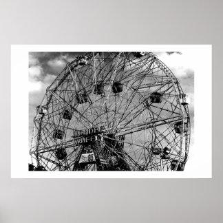 Ferris Wheel Print