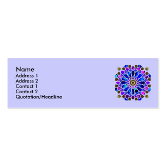 Ferris Wheel Profile Cards Business Card