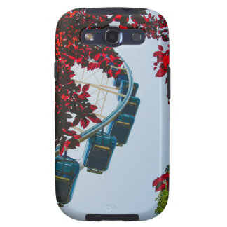Ferris Wheel Red Leaves Galaxy S3 Cases