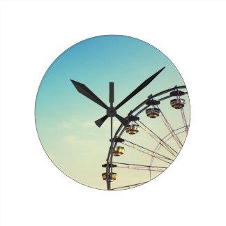 Ferris Wheel Round Clock