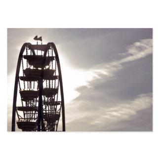 Ferris Wheel Silhouette Business Cards