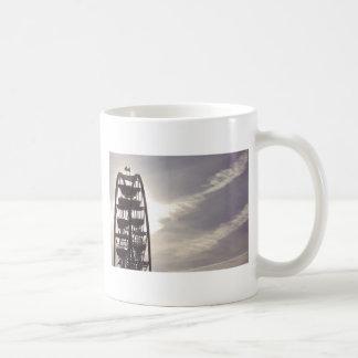 Ferris Wheel Silhouette Mugs