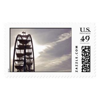 Ferris Wheel Silhouette Stamps