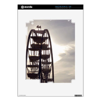 Ferris Wheel Silhouette Decals For The iPad 2