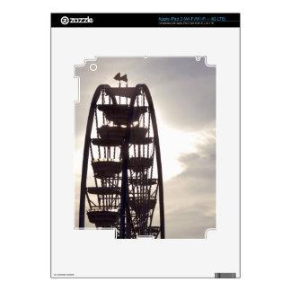 Ferris Wheel Silhouette Decal For iPad 3