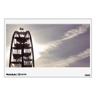 Ferris Wheel Silhouette Wall Decal