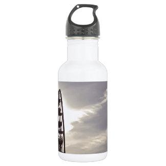 Ferris Wheel Silhouette Water Bottle