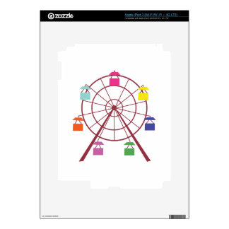 Ferris Wheel Skin For iPad 3