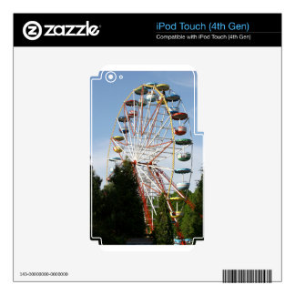 Ferris Wheel Skins For iPod Touch 4G