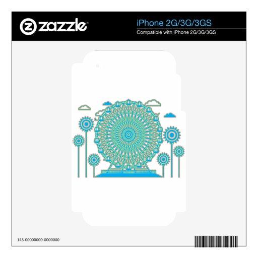 Ferris_Wheel Skins Para iPhone 3GS