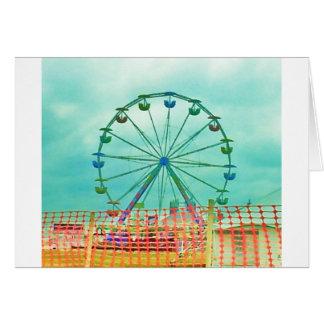 Ferris Wheel Spring Fest Misquamicut Beach Card
