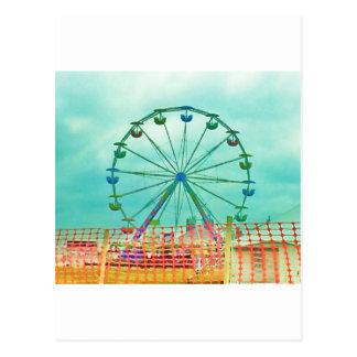 Ferris Wheel Spring Fest Misquamicut Beach Postcard