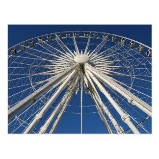 Ferris Wheel Symmetry Postcard
